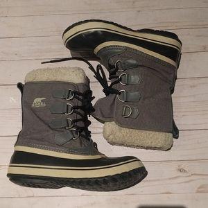 Beautiful grey Sorel boots 🍀🍀🍀